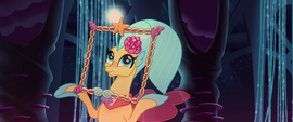 Princess Skystar holding a picture frame MLPTM