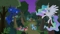 Princesses make path to Filly Guides camp S9E13