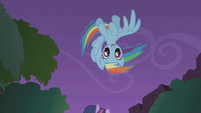 Rainbow Dash loop-de-loop S1E02