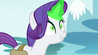 "Rarity ""I can feel its magic"" S4E23"