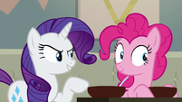 Rarity --you are going to cook!-- S6E12