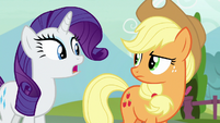 Rarity -what's wrong with that-- S7E9