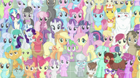 Rarity and Yona on pony puzzle picture S9E7