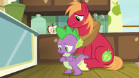 Spike -I know it's wrong to cut corners- S8E10