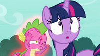 Spike -long enough to dive out of the way- S8E11