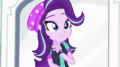 Starlight Glimmer surprised at Sunset Shimmer EGS3.png