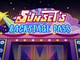 Sunset's Backstage Pass