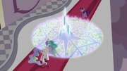 The 3D map of the Crystal Empire S3E01