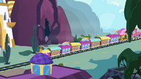 Train heading to Ponyville S4E1