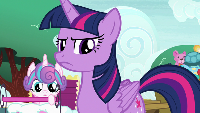 File:Twilight Sparkle looking annoyed at Spike S7E3.png