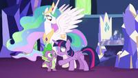 "Twilight Sparkle repeats ""but it could!"" S7E1"