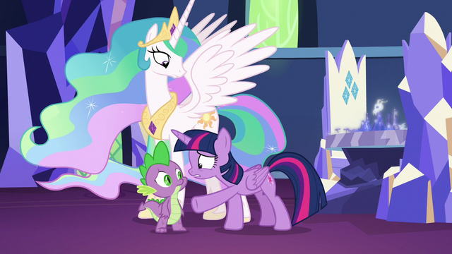 "File:Twilight Sparkle repeats ""but it could!"" S7E1.png"