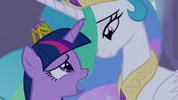 "Twilight and Celestia ""I want to make a contribution"" S4E25"