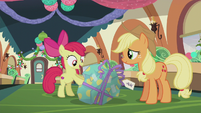 "Apple Bloom ""your first Pie Hearth's Warmin' present ever!"" S5E20"