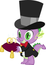 Canterlot Castle Spike 6