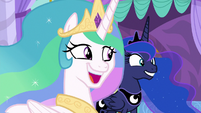 Celestia and Luna have the same idea S9E13