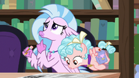 Cozy looks at Silverstream's crossword S8E25