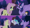 FANMADE Fluttershy with element animation error S3E13