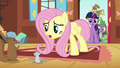 Fluttershy Cutie Mark too early animation error S3E13.png