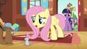 Fluttershy Cutie Mark too early animation error S3E13