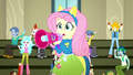 "Fluttershy and CHS students cheer ""Yay!"" SS4.png"