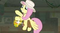 Fluttershy claims the Truth Talisman S9E21