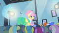 Fluttershy on the catwalk 2 S1E20.png