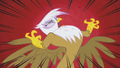 Gilda snaps red background speed lines S1E05.png