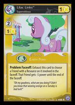 Lilac Links, Superstitious card MLP CCG
