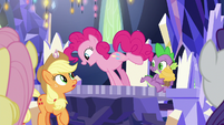 "Pinkie Pie ""they make way more there"" S9E14"
