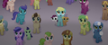 Ponies looking at the airship in fear MLPTM.png