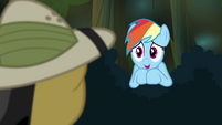 "Rainbow Dash ""a huge fan"" S4E04"