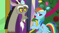 """Rainbow Dash """"let's just say"""" MLPBGE"""