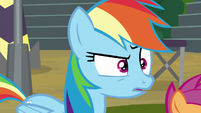Rainbow hears the Washouts laughing S8E20