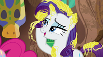 "Rarity ""my mane wouldn't be ready"" S7E19"