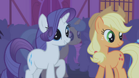 "Rarity ""whatever do you mean"" S1E06"