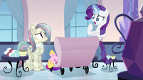 Rarity was optional S3E12