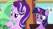 "Starlight ""why are you dressed like that?"" S6E16"