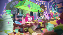 Starlight Glimmer --I meant just the one cake!-- S6E21