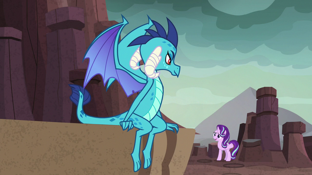 File:Starlight Glimmer greeting Princess Ember S7E1.png