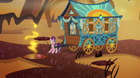 Starlight back in the Flame Geyser Swamp S8E19