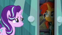 Sunburst thinks for a moment S6E1