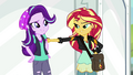 Sunset Shimmer lightly punches Starlight's arm EGS3.png