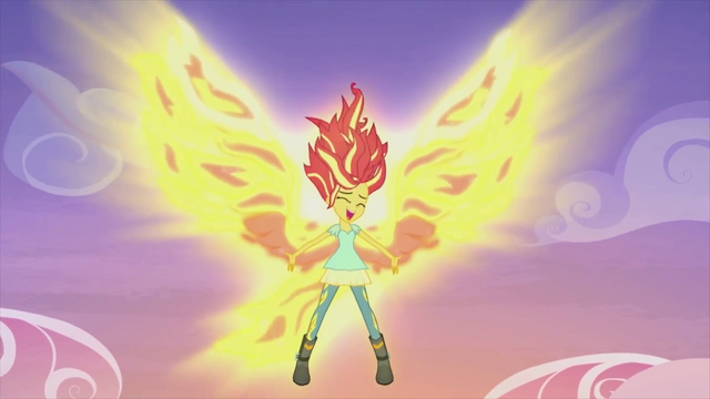 File:Sunset Shimmer the phoenix EG2.png