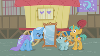 Trixie telling Snips and Snails to go away S1E06