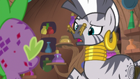 "Zecora ""I know you are speaking"" S8E11"
