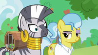 Zecora making a realization S9E18