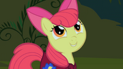 Apple Bloom saying what she will do if she sees the creature S1E17
