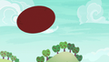 Applejack's served ball sails through the air S6E18.png