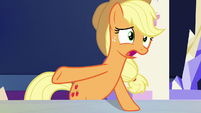 "Applejack ""wasn't even any traffic"" S9E13"